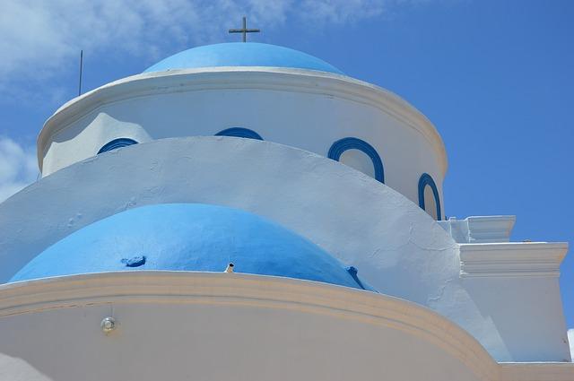 architettura colori kos grecia