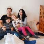 famiglia in camera ostello