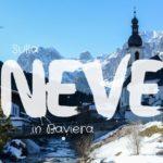 Sulla neve in Baviera con i bambini
