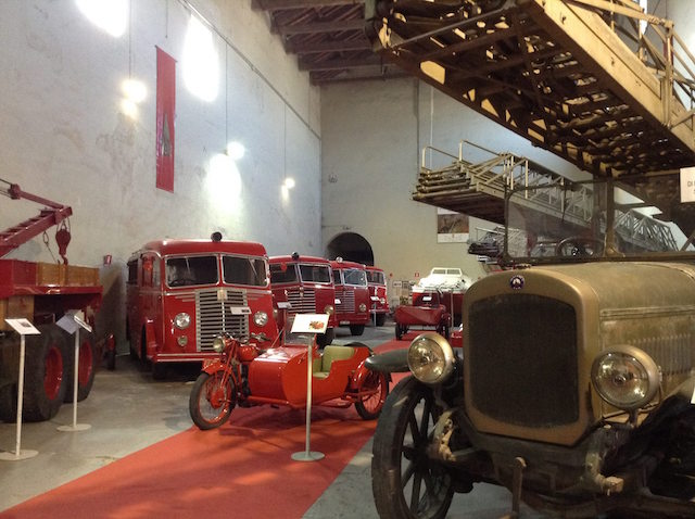 museo vigili del fuoco Mantova