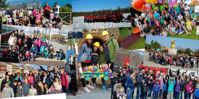 viaggi di gruppo con bambini