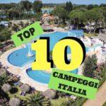 10 campeggi TOP in Italia per famiglie con bambini