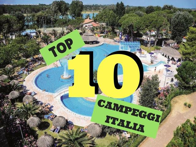 campeggi top in Italia