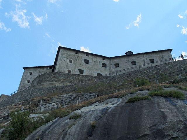 Il Forte di Bard in Val d'Aosta