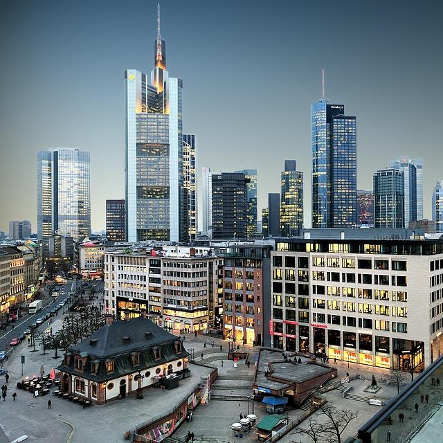 grattacieli a Francoforte