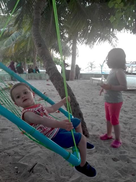 relax spiaggia bimbi