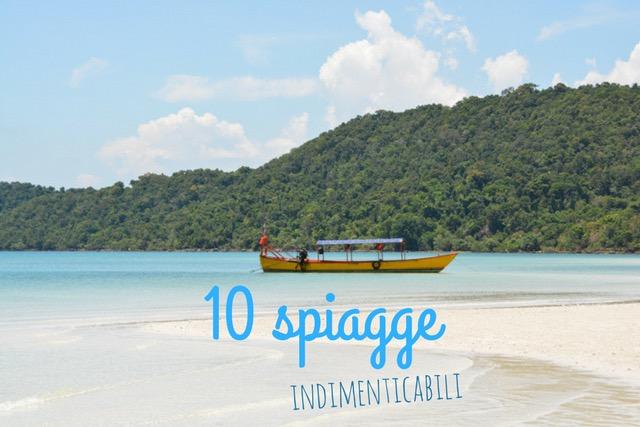 10 spiagge da non perdere