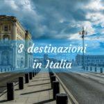 3 destinazioni per una vacanza in Italia con bambini