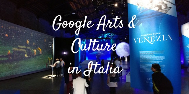 Google Arts & Culture Grand Tour Italia