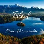 Ponte del 1 novembre a Bled