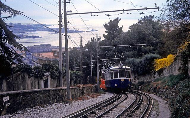 viaggi in treno Trieste