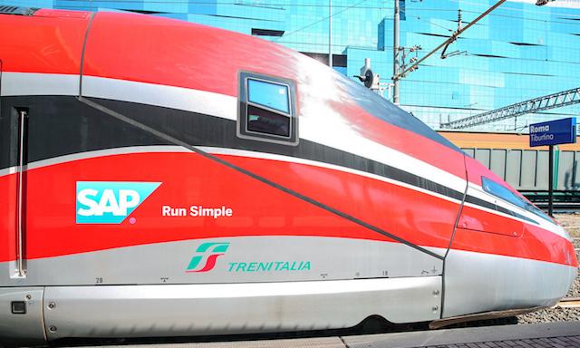 frecce viaggiare in treno