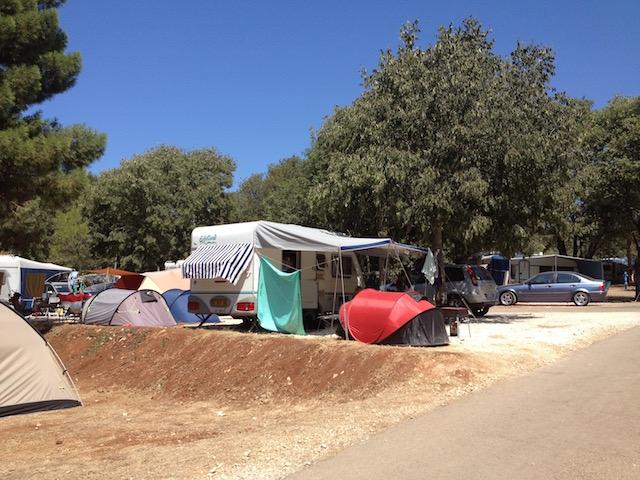 campeggio croazia con cane