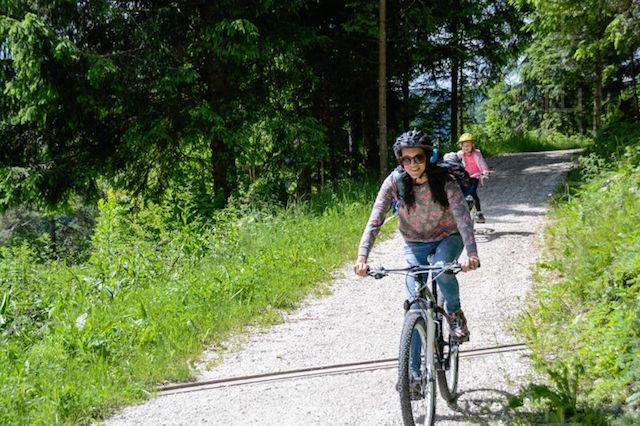 mountain bike vezzena
