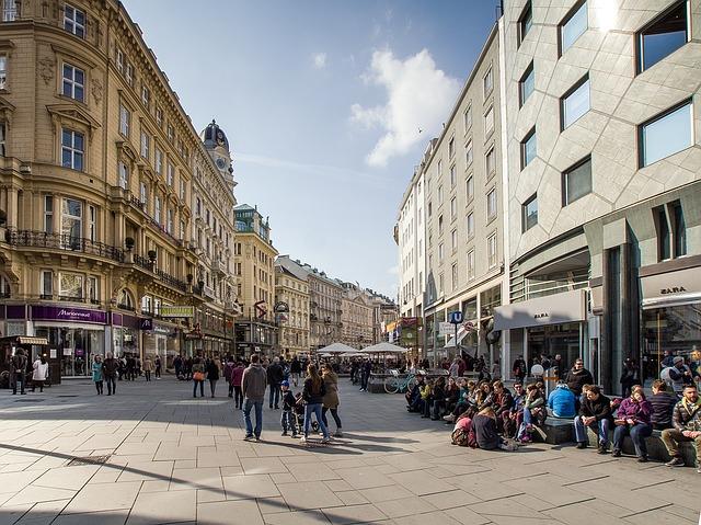 Vienna vie pedonali