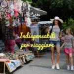 10 oggetti indispensabili per viaggiare