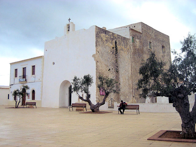Formentera chiesa
