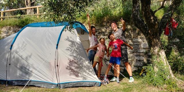 campeggio a Riva