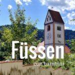 Füssen con bambini in Baviera