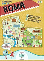 mappa roma per bambini