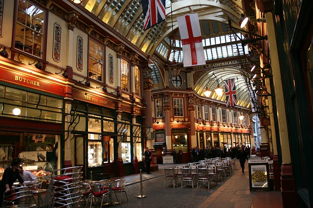 Leadenhall Market harry potter