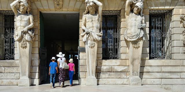 ingresso villa pisani