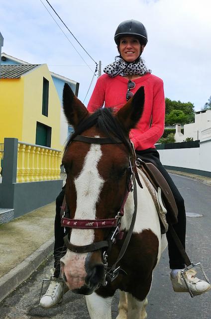 escursione cavallo azzorre