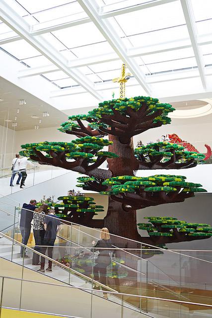 albero creatività lego