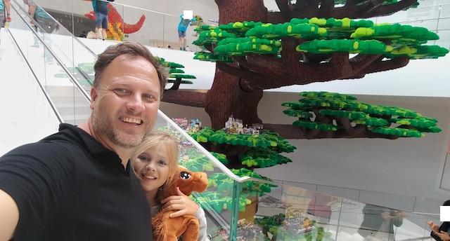 albero creatività lego house