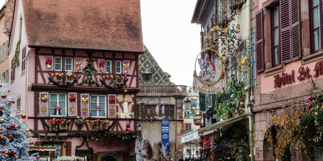 Colmar case addobbi