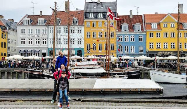 Nyhavn copenhagen tour danimarca