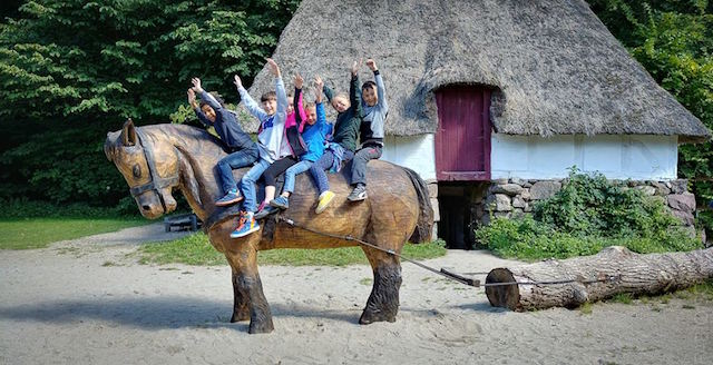 fune village tour con bambini