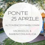 Ponte del 25 aprile con i bambini sul Lago di Garda