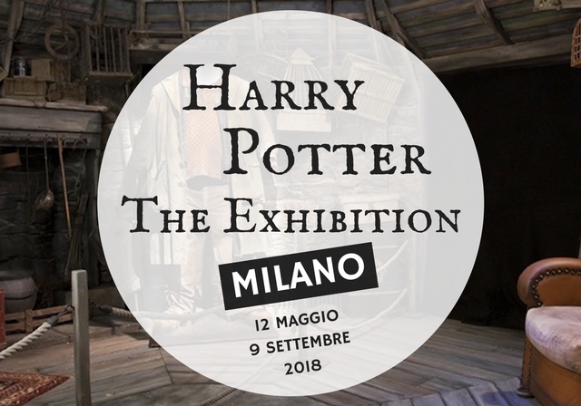 Harry Potter exhibition a Milano