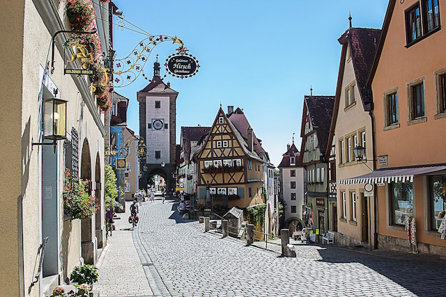 Rothenburg Strada Romantica
