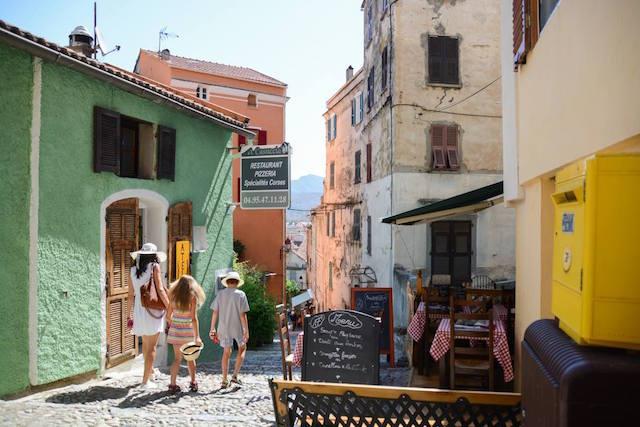 Corsica colori case