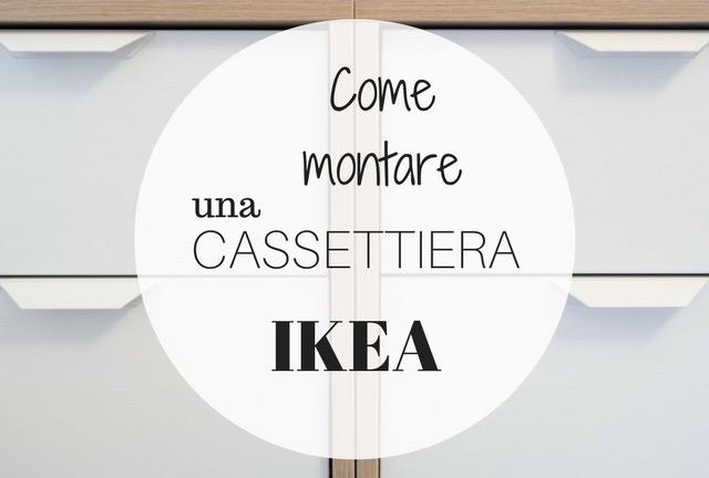 Ikea Cassettiera Malm 5 Cassetti.Come Montare Una Cassettiera Ikea Senza Separarsi