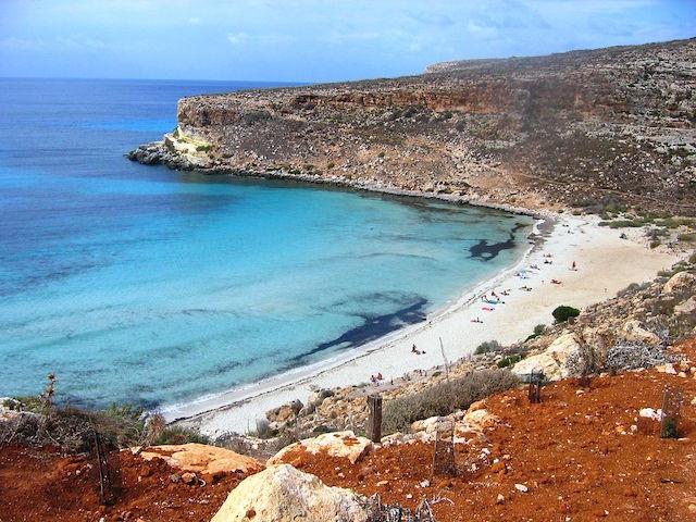 spiagge italia lampedusa