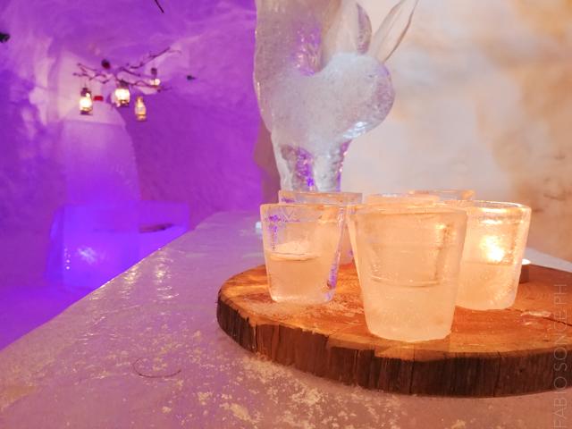 ristorante ghiaccio