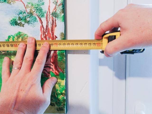 misurare una stanza arredamento
