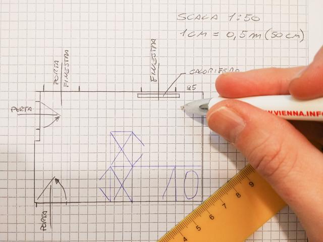 Come misurare una stanza facilmente e senza sbagliare for Disegnare una stanza in 3d