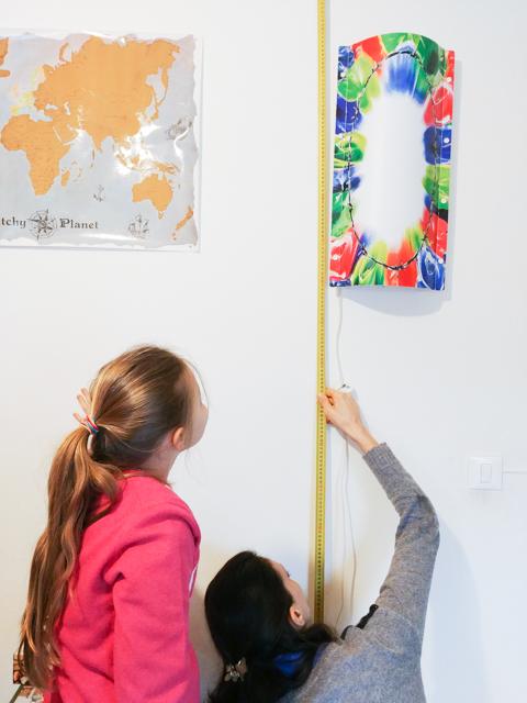 misurare una stanza