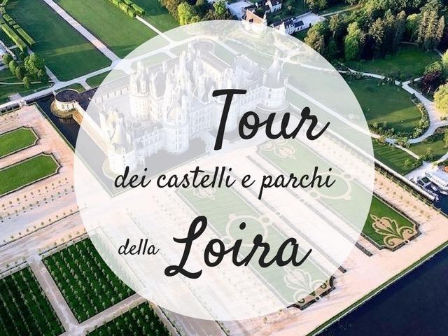 tour dei castelli e parchi della Loira