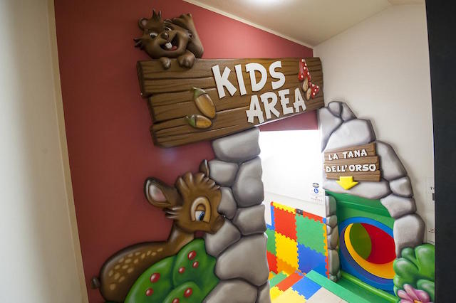 kids area livigno