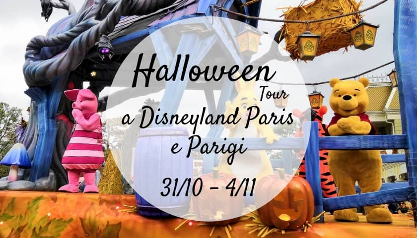 Tour Halloween Disneyland Parigi
