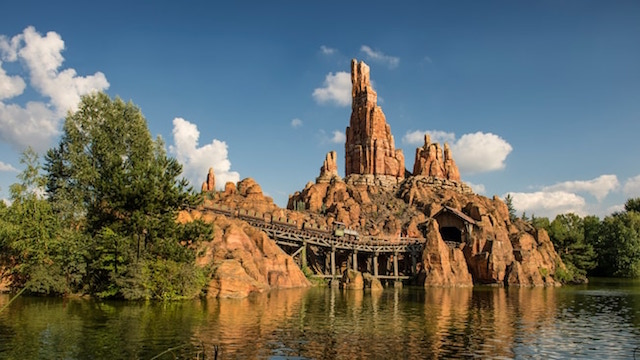 Big Thunder Mountain tour
