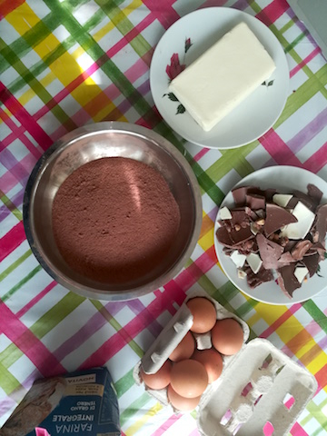 brownies ingredienti