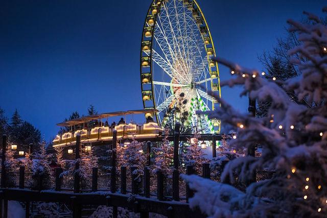Europa park inverno