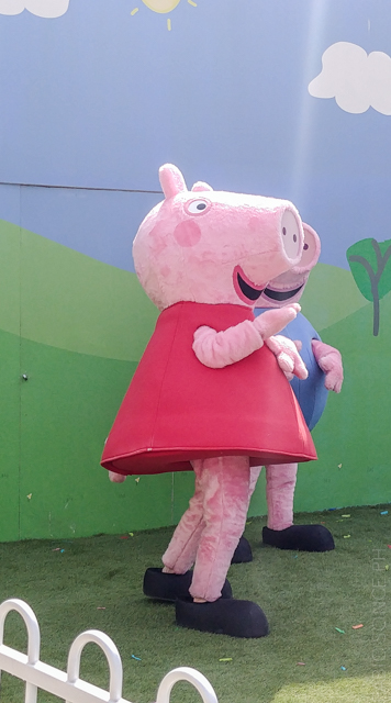 peppa pig land personaggi