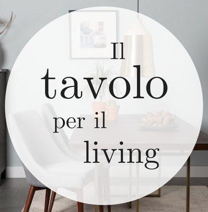 living tavolo soggiorno
